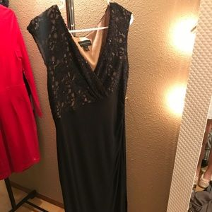 Lace Black EveningGown